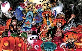 anime happy halloween one piece anime halloween nico robin roronoa zoro tony tony