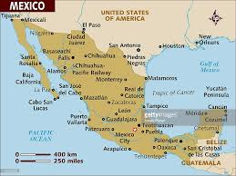 Maps Of Mexico by Map Of Mexico Stock Illustration Getty Images