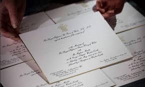 shaadi invitations a peek at meghan markle and prince harry s wedding invitations