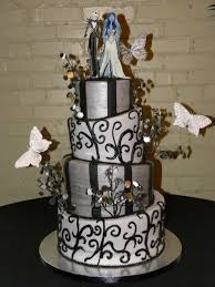 corpse wedding topsy turvey corpse wedding cake cakecentral
