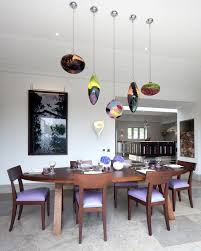 funky dining room light fixtures with oval wood table sets for 6