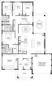 modern home floor plans home designs kaajmaaja