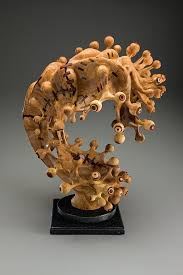 wood sculptures tim byrns revitalized wood sculptures american craft council