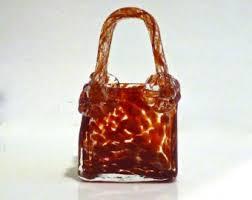 Murano Glass Purse Vase Murano Glass Purse Etsy