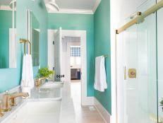 20 small bathroom design ideas hgtv