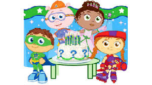 Birthday Decoration Ideas For Boy Birthday Party Ideas For Kids Super Why Birthday Party Pbs