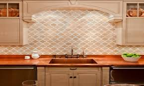 sink faucet moroccan tile kitchen backsplash ceramic countertops