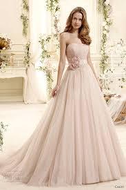 blush wedding dress with sleeves colet 2015 wedding dresses wedding inspirasi