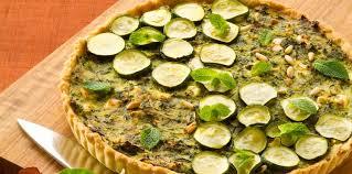 comment cuisiner les courgettes tarte méditérranéenne aux courgettes et aux pignons facile et pas