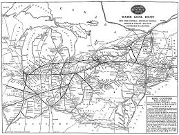New York Rail Map by The New York Central System