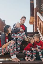 matching pajamas for the whole family