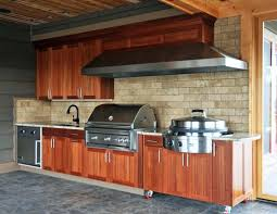 Outside Kitchen Cabinets Outdoor Kitchen Cabinets Kits Prefabricated Furniture Decor