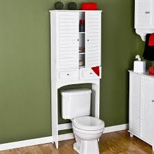 bathroom space saver storage over the toilet cabinet shelve care