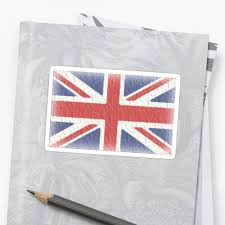 The Grand Union Flag Faded Union Jack Flag Britain British Uk British Flag