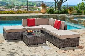 Outdoor Furniture Sectional Sofa Enjoy Your Summer With Outdoor Wicker Furniture 50 Idea Photos