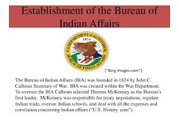 us bureau of indian affairs identity 5 tim and