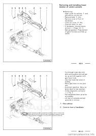audi a3 2001 8l 1 g general body assembly interior workshop manual