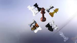 Designer Chess Sets by Milosaurus Staunton Style Chess Set 3d Printable Model