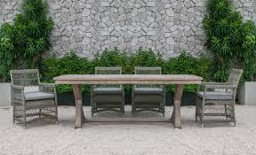 renava sonoma outdoor dining table set