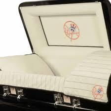 official major league baseball casket new york yankees walmart com