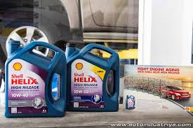 high mileage new cars shell helix high mileage introduced to the philippines auto