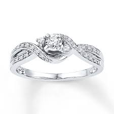 Promise Ring Engagement Ring And Wedding Ring Set by Kay Promise Rings