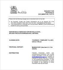 construction proposal templates u2013 17 free word excel pdf format
