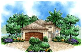 narrow lot tuscan 66195gw architectural designs house plans