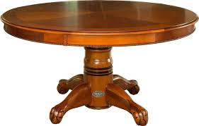 round poker table with dining top berner billiards 60 round poker table 4 chairs in antique walnut