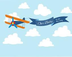 airplane baby shower airplane baby shower backdrop printable five