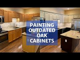 painting kitchen cabinets espresso before and after how to paint oak cabinets to espresso