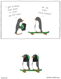 Cute Penguin Meme - 20 utterly cute animal comics from the simpsons illustrator