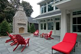 Outdoor Furniture Minneapolis by Minneapolis Stamped Concrete Patio Contemporary With Red And White