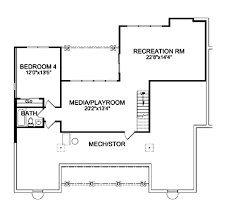 3 Bedroom House With Basement Craftsman House Plan With 3 Bedrooms And 2 5 Baths Plan 9233