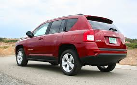 red jeep compass 2013 jeep compass latitude 4x4 first test motor trend