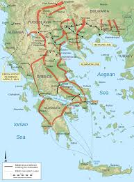 World War 2 In Europe And North Africa Map by Battle Of Greece Wikipedia
