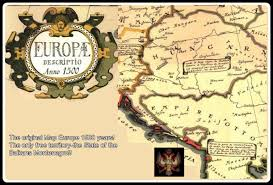 mapa europe the original map europe 1500 years the only free territory the