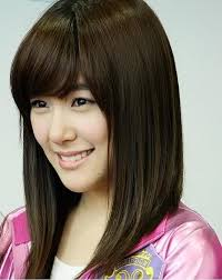 mid length layered haircuts for full face medium length hairstyle for round face asian hair
