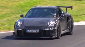 2018 porsche 991 gt2 rs mule spied testing on the nurburgring