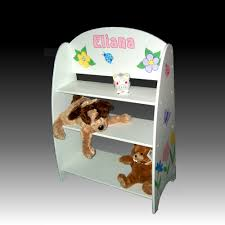 children u0027s bookcase white bookshelves personalized gifts