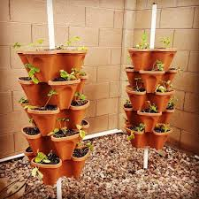 amazon com 36 mr stacky individual stacking vertical gardening