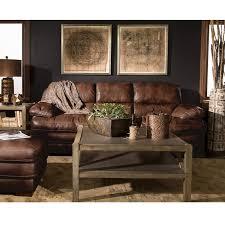 Flexsteel Leather Sofa Leather Sofa Sofas And Loveseats Nebraska Furniture Mart