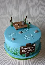 fish birthday cakes fishing birthday cake best 25 fishing birthday cakes ideas on