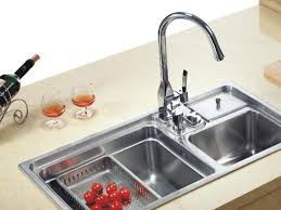 kohler revival kitchen faucet bathroom faucets wonderful lever handles a in spout sidespray