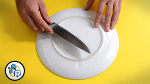 what is the best way to sharpen kitchen knives how to sharpen your knife without a sharpener chemistry