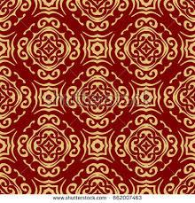 oriental design luxury seamless background geometric floral pattern stock photo