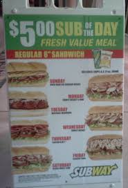 cuisine subway subway sandwiches 10251 pines blvd pembroke pines fl