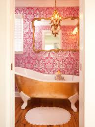 Pink Chandelier Light 13 Dreamy Bathroom Lighting Ideas Hgtv