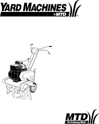 yard machines tiller 340 thru 390 user guide manualsonline com