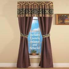 Southwestern Style Curtains Unbranded Southwestern Curtains Drapes Valances Ebay